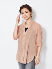 Rouge vif la cle - コットンオーガンジーシャツ