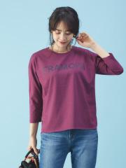 Rouge vif la cle - ロゴ入りロングTシャツ