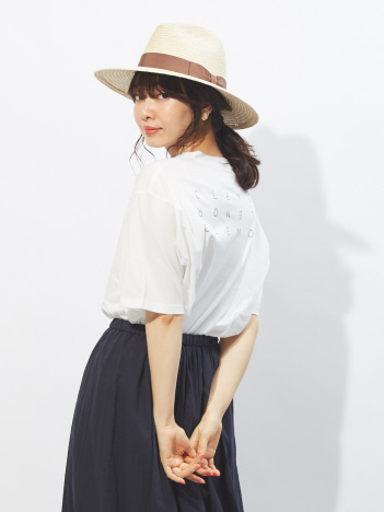 OUTLET (Ladie's) - CLEMOR big Tシャツ