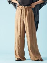 Rouge vif la cle - キュプラ刺繍パンツ