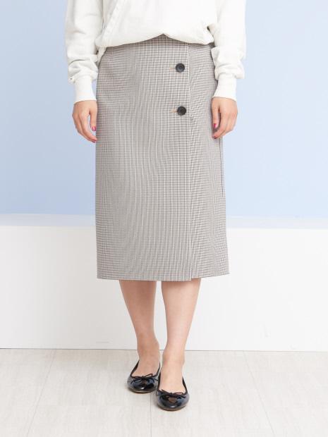 【2WAY】チェックリバースカート【予約】
