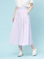 Rouge vif la cle - ハイウエストポケット付きスカート