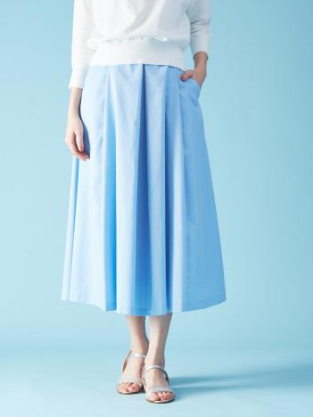 ハイウエストポケット付きスカート