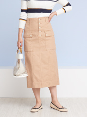 Rouge vif la cle - ミリタリータイトスカート【予約】