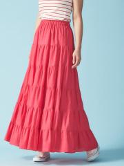 Rouge vif la cle - コットンギャザースカート
