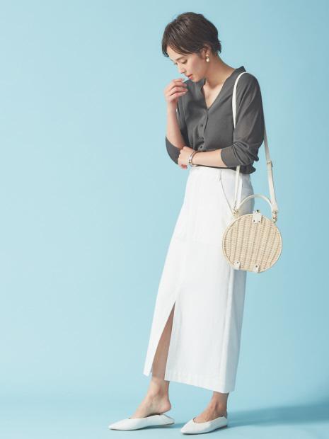 ロングストレートスカート【予約】