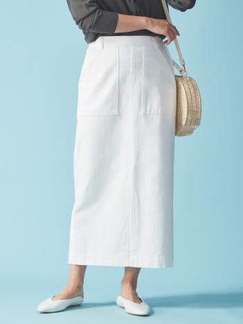 ロングストレートスカート
