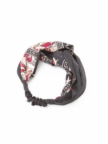 Rouge vif la cle - スカーフ柄ターバン