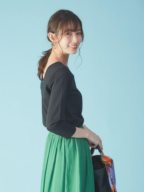【Leminor/ルミノア別注】MADEMOISELLE/マドモアゼル カットソー