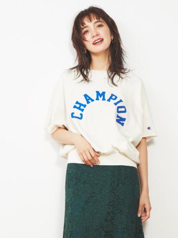 【Champion】ロゴスウェットトップス