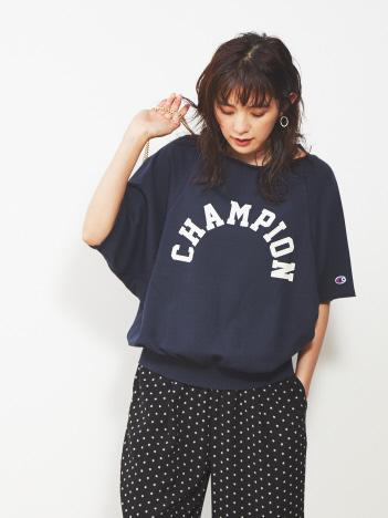 Rouge vif la cle - 【Champion】ロゴスウェットトップス