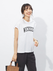 【MICA&DEAL】プリントロゴTシャツ