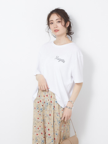 OUTLET (Ladie's) - 【SHAMAN】ショートTシャツ MAZETTE