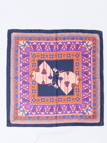 manipuri BAGシルクスカーフ