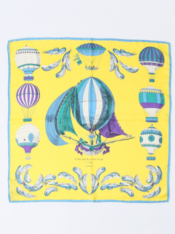 manipuri CLASSICBALLOONシルクスカーフ