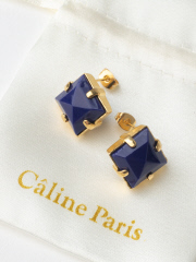 Rouge vif la cle - Caline Paris vintageピアス【予約】