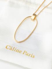 Rouge vif la cle - Caline Paris リングネックレス【予約】
