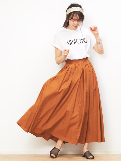 【MICA&DEAL】WEB限定ボリュームマキシスカート【予約】