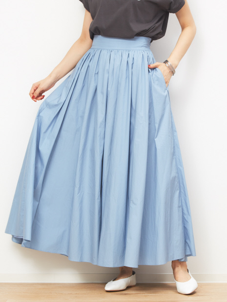 【MICA&DEAL】WEB限定ボリュームマキシスカート