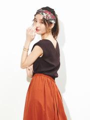Rouge vif la cle - カシュクールテレコカットソー【予約】