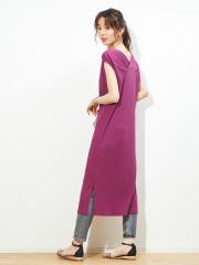 Rouge vif la cle - バックデザインワンピース