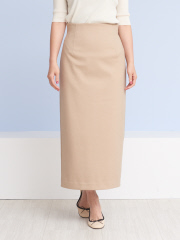 Rouge vif la cle - バックスリットロングタイトスカート