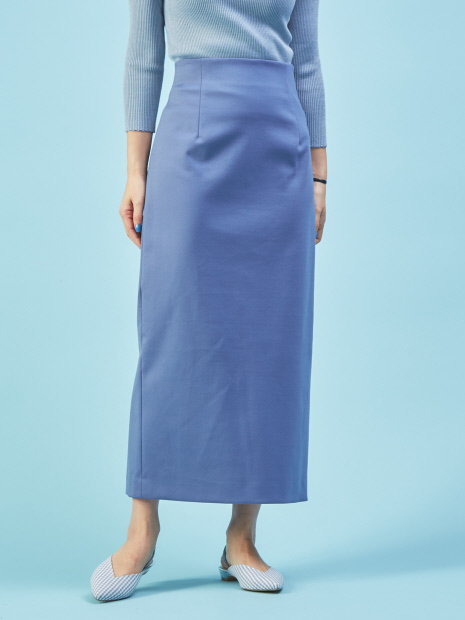バックスリットロングタイトスカート