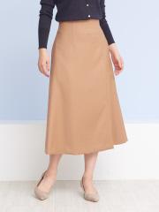 Rouge vif la cle - スリットフレアミディスカート