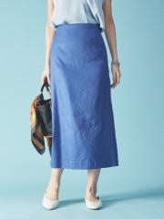 Rouge vif la cle - セミフレアタイトスカート