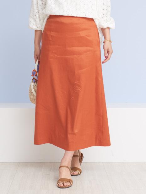 セミフレアタイトスカート