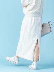 Rouge vif la cle - ストライプロングタイトスカート【予約】