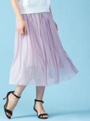Rouge vif la cle - エスパンディギャザースカート