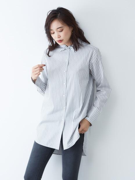 スカーフシャツ
