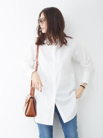 Rouge vif la cle - ロングシャツ【予約】