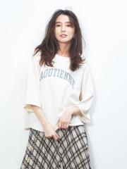 Rouge vif la cle - ミニ裏毛ロゴプルオーバー【予約】