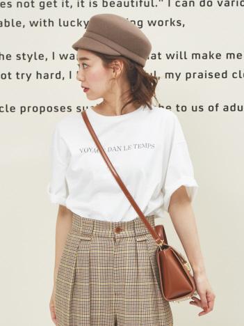 Rouge vif la cle - オーバーサイズロゴTシャツ