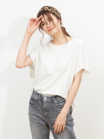 ガーメントダイプリントTシャツ