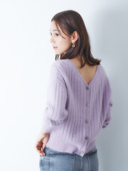 フォックス混2WAYニット【予約】