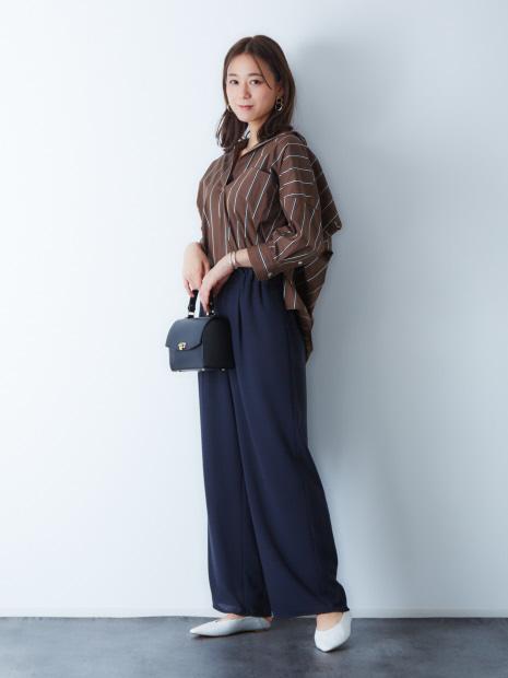 【別注 TICCA】ストライプスキッパーシャツ