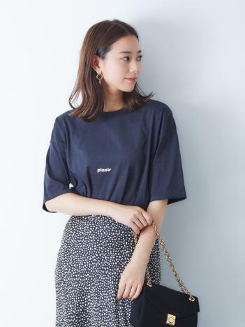 【別注 TICCA】ロゴTシャツ