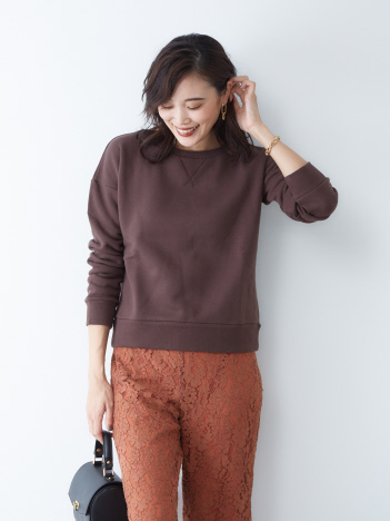 OUTLET (Ladie's) - Traditional Weatherwea スウェットプルオーバー
