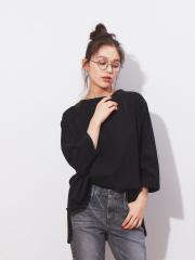Rouge vif la cle - 【Audrey and John Wad】製品洗いロングTシャツ【予約】
