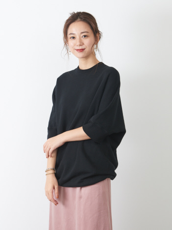 OUTLET (Ladie's) - 【Traditional Weatherwear】ドルマンショートスリーブスウェットワンピース