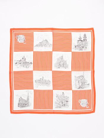 manipuri ジャガード織casleスカーフ
