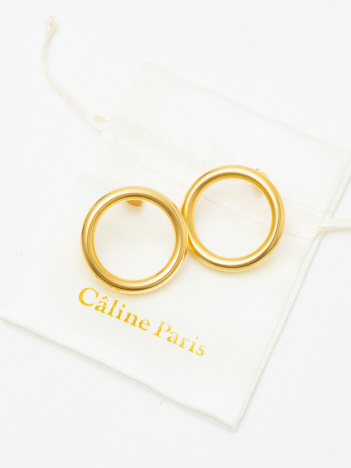 Rouge vif la cle - Caline Paris サークルピアス