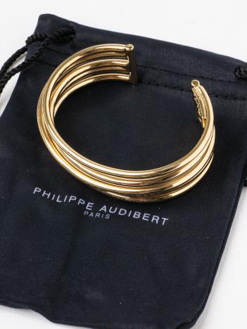 PHILIPPE AUDIBERTmetalブレス(ゴールド)