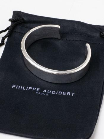 PHILIPPE AUDIBERT Addisonブレス(シルバー)