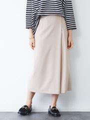 Rouge vif la cle - サキソニーポケット付スカート【予約】