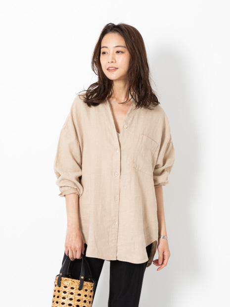 リネンビックシャツ【予約】