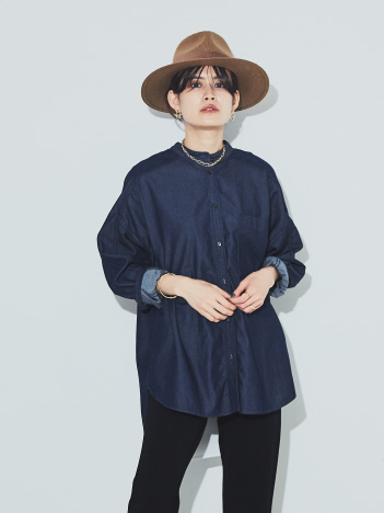 Rouge vif la cle - ビックポケットオーバーシャツ【予約】